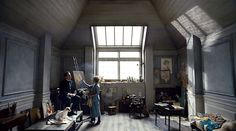"""Art in Cinema: Vilhelm Hammershøi-esque interiors in The Danish Girl (2015)  """