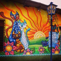Street Art at Ataco, El Salvador