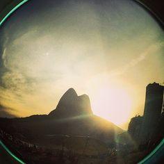 Sunset at Rio de Janeiro - Brazil