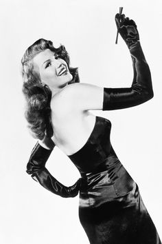 """""Rita Hayworth photographed by Robert Coburn for Gilda, 1946 "" """
