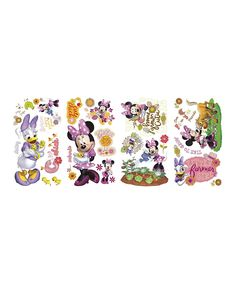 Minnie Mouse Barnyard Cuties Decal Set