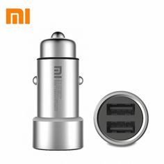 9.7$  Buy here - Original XIAOMI MI car charger 5V/3.6A dual car charger for xiaomi iphone samsung  + retail box drop shipping   #buychinaproducts