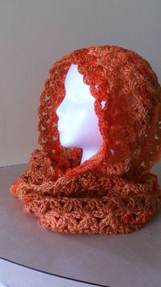Aquatic Blossom Infinity Scarf made with Caron Simply Soft ombre (free Ravelry crochet pattern)
