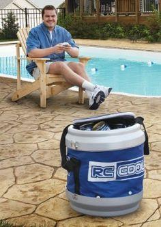 $69.99 Remote Controlled Rolling Beverage Cooler. - Unique Kitchen Gadgets