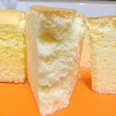 Cheddar Cheese Ogura More Chiffon Recipe, Chiffon Cake, Cheesecake Recipes, Dessert Recipes, Ogura Cake, Asian Cake, Flat Cakes, Cotton Cake, Souffle Recipes