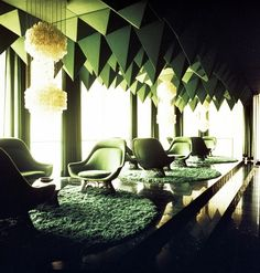 blue-voids:  1970's interiors, Verner Panton  These are more...