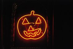Home accessory: pumpkin halloween halloween decor neon neon light