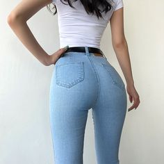 Superenge Jeans, Sexy Jeans, Skinny Jeans, Slim Waist, High Waist Jeans, Online Clothing Stores, Girls Jeans, Hottest Models, Look Fashion