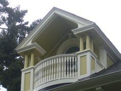 victorian homes balcony second floor | Balcony to the Stars