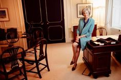 Even members of Theresa May's cabinet say they don't really know her. Only our second female prime minister, she is intensely private — neither matey over a single malt in one of Teresa May, Home Office Layouts, Rain Cape, Broadway Plays, Weather And Climate, The Sunday Times, Fancy Shoes, Time Magazine, Girl Boss