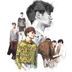 Fashion Illustration by Berto Martinez, via Behance