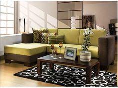 decoracion de living con muebles de algarrobo - Buscar con Google