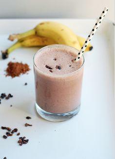 Chocolate Cacao Nib Cherry Smoothie Recipe