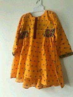 Girls Dresses Sewing, Stylish Dresses For Girls, Stylish Dress Designs, Little Girl Dresses, Baby Dresses, Summer Dresses, Baby Girl Dress Design, Baby Girl Dress Patterns, Pakistani Fashion Casual