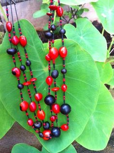 Hawaiian seed necklace