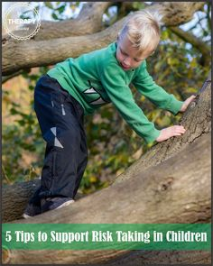 5 Tips to Support Risk Taking in Children | Your Therapy Source - www.YourTherapySource.com