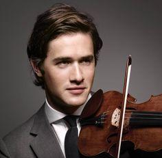 charlie siem - violin virtuoso and model...drool