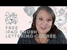 iPad Lettering for Beginners | 01 - Learn Procreate iPad Brush Lettering with Holly Pixels - YouTube