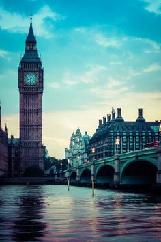 "Gorgeous shot of ""Big Ben"" and the Thames"
