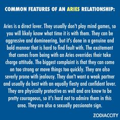 Aries: If pushed into jealously, I shall never look at you the same again. (Yes Pushed, that's what I said)