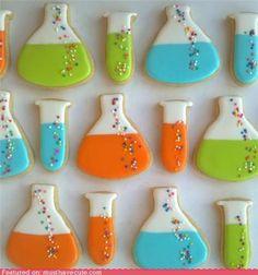 Science cookies!