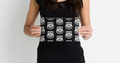 Haven Syfy Inspired Studio Pouch | Haven Team Wuornos Silver Police Badge Logo