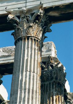 Superior Temple Of Seus Capitals   Greece