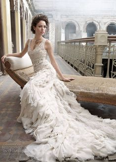 "Wow - just wow!  ZsaZsa Bellagio: ""TO DIE FOR"" Wedding Gown Collection"