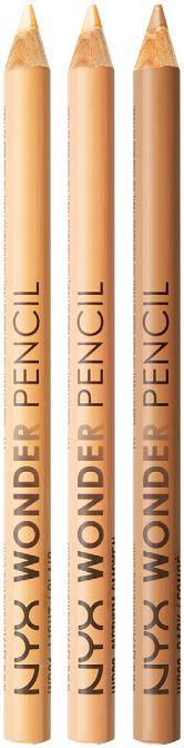 wonder pencil by NYX: versatile pencils in three shades nude. To correct imperfections, light, outline the lips to hold off the lipstick. // wonder pencil by NYX: matite versatili in tre gradazioni nude. Per correggere imperfezioni, illuminare, delineare le labbra per tenere a bada il rossetto.