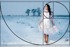 Look for/Use the golden mean in composing shots.  Interesting thought.