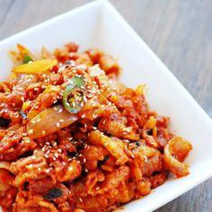 Jeyuk Bokkeum - Stir-Fry Spicy Pork