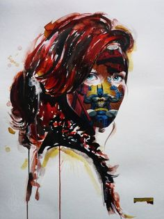 Cages, the new series from self-taught Canadian artist Sandra Chevrier, is about the never-ending struggle with conventions, society and expectations. Women all over the world have to face society´s twisted and artificially created preconceptions of being beautiful and perfect. Chevrier´s approach is to make this inner struggle visible and perceivable.