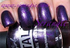 Scrangie: LA Girl METAL Metallic Nail Polish Collection. My newest nailpolish: millenium by L.A girl.