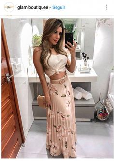 Floral Print Pleated Maxi Skirts Autumn fashion Hoodie dress fashion Bodycon dress Fashion outfits Clothes for women Fashion dresses Knee length dresses Spaghetti strap Mode Outfits, Night Outfits, Skirt Outfits, Spring Outfits, Dress Skirt, Casual Outfits, Bodycon Dress, Holiday Outfits, Look Fashion