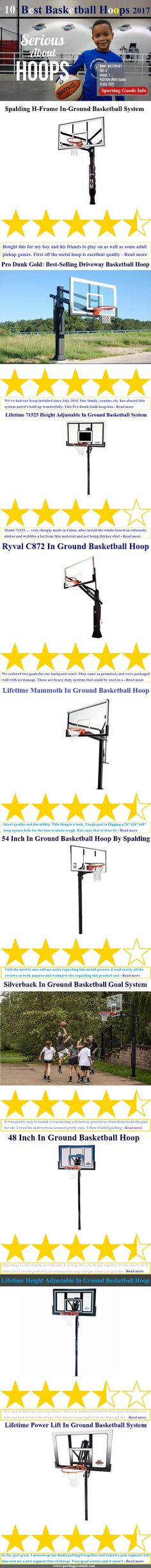 After spending years of enjoying Basketball and testing dozens of goal systems, we've found the best in ground basketball hoops. Serious Players love the H-Frame In-Ground Basketball Goal System from Spalding and Lifetime 71525 Height Adjustable Basketball Hoop is one of the most favorite choices of budget customers. Both of these have height adjustment facility along with other cool features and from breathtaking basketball match to afternoon sweat secreting practice, the performance of the…