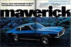 ford maverick   AUTOS CLÁSSICOS: LANÇAMENTO - FORD MAVERICK