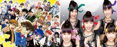 Momoiro Clover Z cosplay Conan in latest cover of Shounen Sunday - http://sgcafe.com/2013/07/momoiro-clover-z-cosplay-conan-in-latest-cover-of-shounen-sunday/