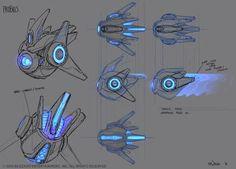 Probius by Mr--Jack on DeviantArt Spaceship Design, Spaceship Concept, Robot Concept Art, Weapon Concept Art, Armor Concept, Robot Design, Art Design, Robot Humanoïde, Arte Robot