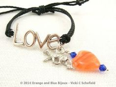 Auburn Tiger Love Bracelet 1 2207457 by OrangeAndBlueBijoux for $16.50