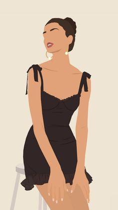 Girl Illustration Art, Digital Illustration, Digital Art Girl, Art Design, Graphic Design, Portraits, Art Drawings Sketches, Cartoon Art, Cute Art