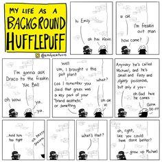 AHHHHHH I NEVER SEE BACKGROUND HUFFLEPUFF