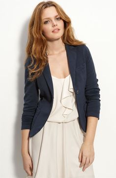 I need this whole outfit for work! luv the blazer #my style