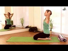 How To Yoga For Beginners. Back Tension Relief. YogaTX#Health&Fitness#Trusper#Tip
