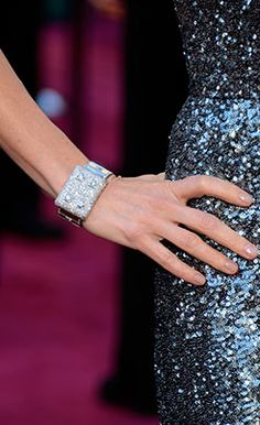 Actress Naomi Watts wears jewelry from the Neil Lane collection to the 85th Annual Academy Awards