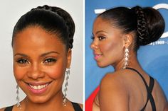 sanaa lathan hairstyles | Sanaa Lathan Works best on: Any hair length or texture (but you'll ...
