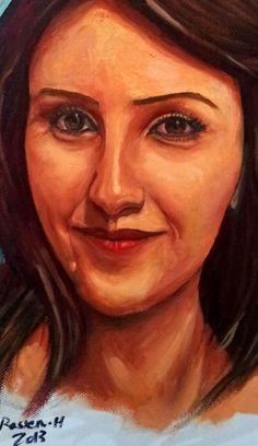 My Eve by Rassen Haddad 2013 Drawing Skills, Mona Lisa, Portrait, Drawings, Artwork, Work Of Art, Auguste Rodin Artwork, Portrait Illustration, Sketches