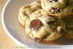 Marinated Chocolate Chip Cookies (the best cc cookies you will ever have.)