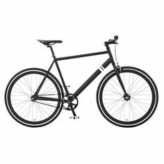 """Enjoy afternoon rides down country lanes or jaunts by the shore with this sleek fixed-gear bike, featuring hand brakes and a black finish.  Product: BikeConstruction Material: Steel, alloy and rubber Color: BlackFeatures:  Single or fixed gearHand brakesDimensions: Small: 19.25"""" H x 72.1"""" W x 6"""" DMedium: 20.5"""" H x 72.1"""" W x 6"""" D (frame) Large: 21.75"""" H x 72.1"""" W x 6"""" D (frame)Assembly: Assembly required"""