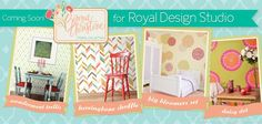 Coming this week…a super darling new collection of stencils based on the sweet pattern stylings of designer Bonnie Christine. Betcha can't wait! Start getting to know Bonnie here http://www.bonniechristine.com/