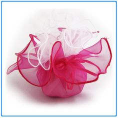 12x Designer Organza Gift Bags for Weddings & Party Favors - 11 inch square - Fusia Pink and White DIYJewelryDepot http://www.amazon.com/dp/B005K71I2C/ref=cm_sw_r_pi_dp_9qATtb0JH748XEZ6